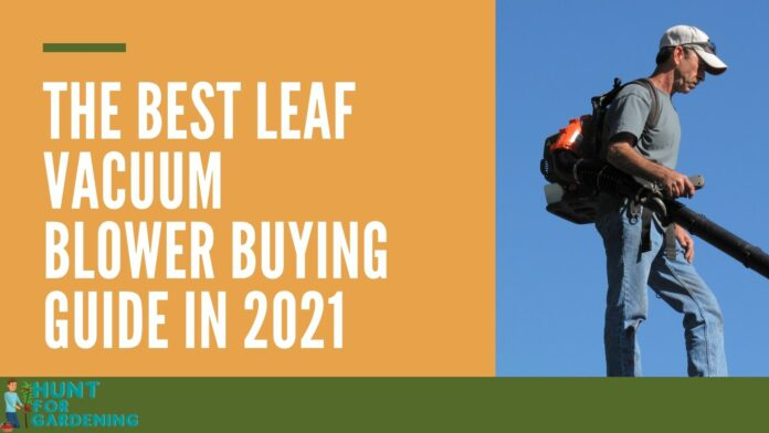 The Best Leaf Vacuum Blower Buying Guide in 2021