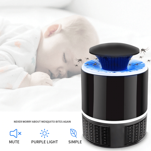MosskitosInsect Killer with 360 Degrees LED Trap Lamp