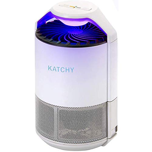KATCHY Indoor Insect and Flying Bugs Trap (Manual Setting) (White)