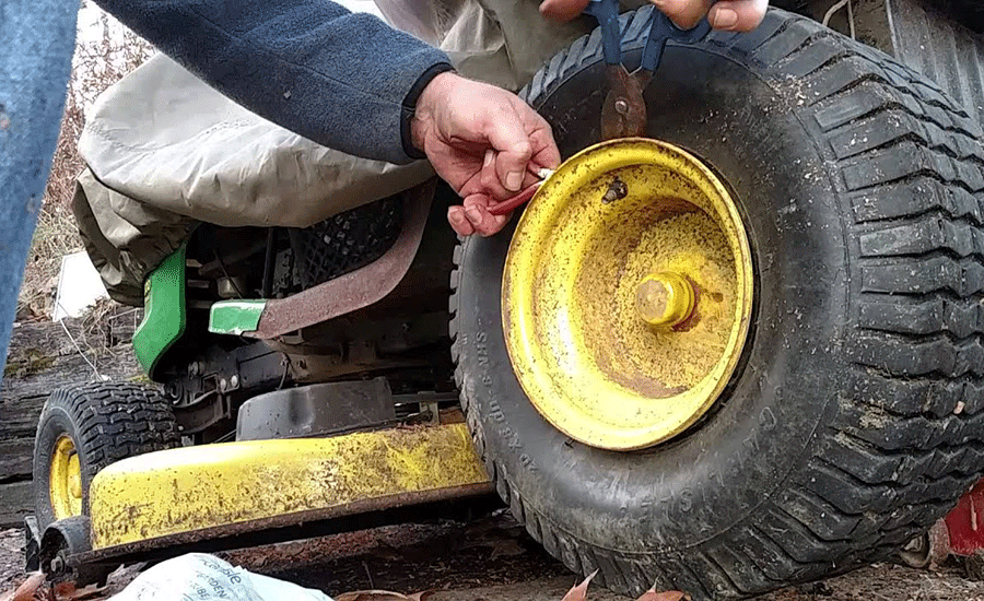 How To Remove A Lawn Mower Wheel? (Step-By-Step Guide)