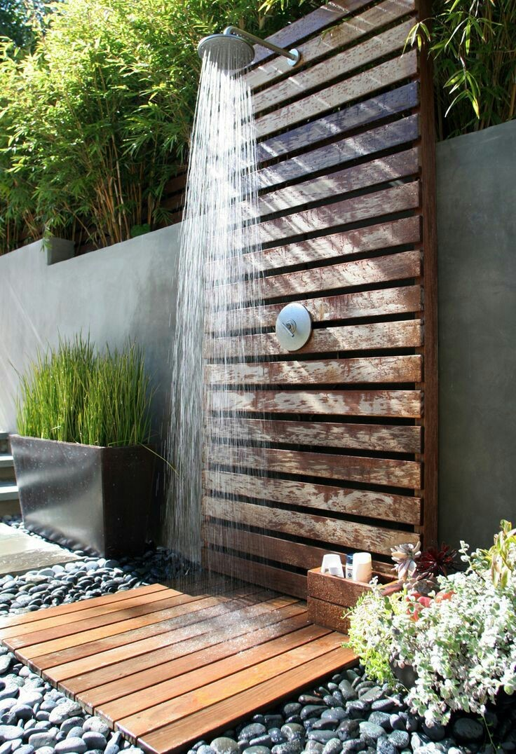 17 Outdoor shower ideas that will blow you away