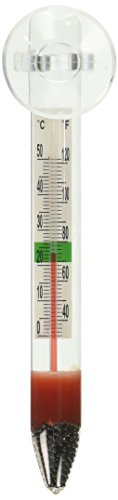 Marina Floating Thermometer for Betta Fish Tank with Suction Cup, Aquarium Thermometer, 11201A1