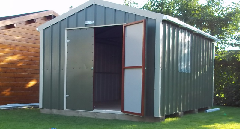The Principal Advantages of Steel Sheds
