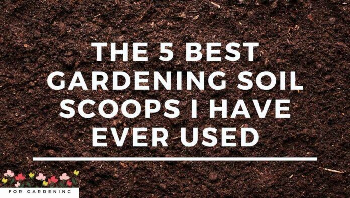 The 5 Best Gardening Soil Scoops I have Ever Used