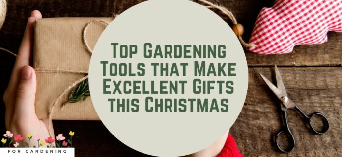 Top Gardening Tools that Make Excellent Gifts this Christmas